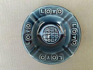 Ancien cendrier en verre LOTO Gien FDJ publicité vintage vieux bistrot ashtray in Collections, Objets publicitaires, Cendriers | eBay