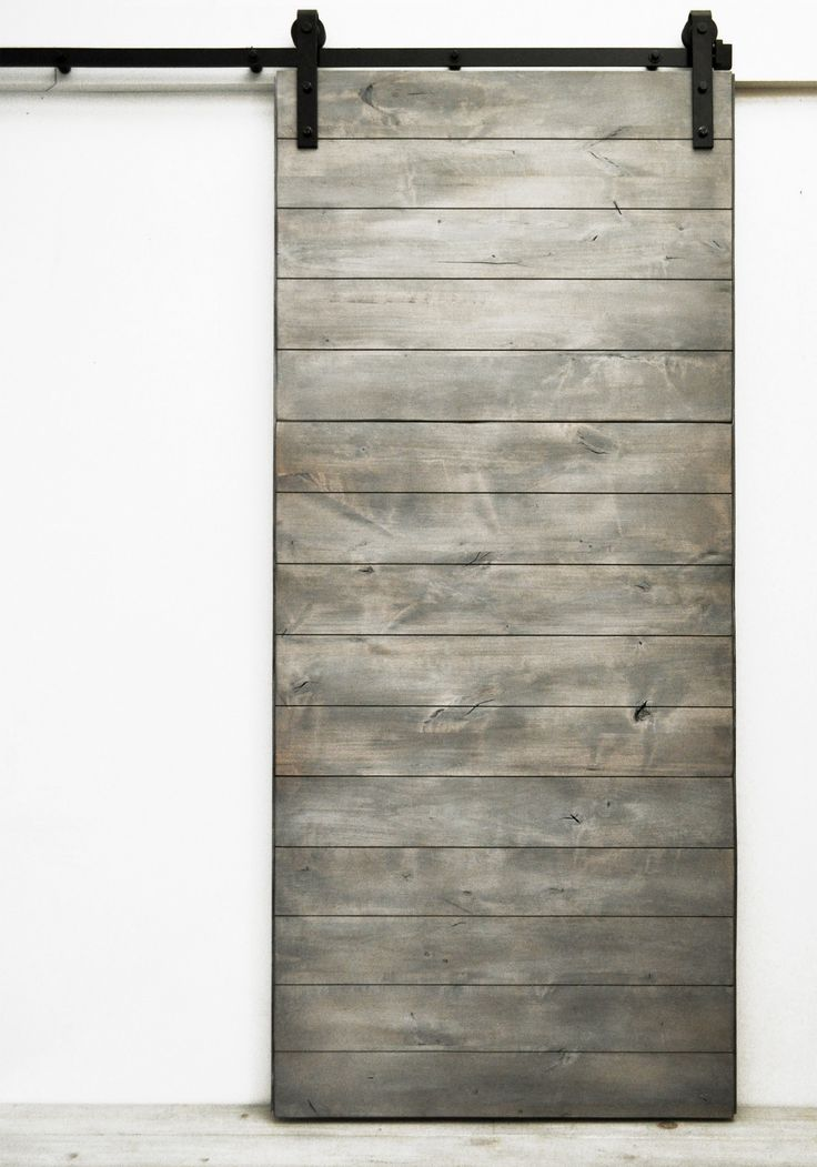 """Simple modern design at its best, the horizontal direction of the solid wood boards creates elegant visual flow. Standard door sizes are 82""""H x 36""""W and the larger 96""""H x 48""""W. Our collection of Dogbe"""