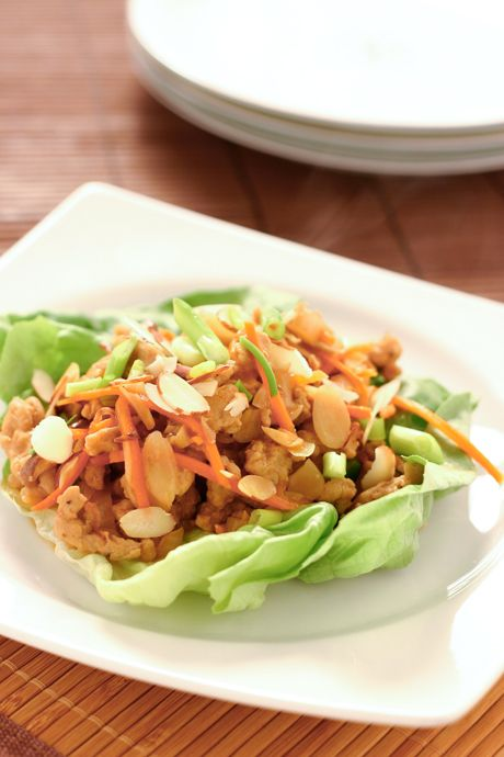 Healthy+and+Easy:+Chicken+Lettuce+Wraps
