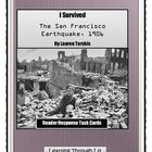 I Survived The San Francisco Earthquake, 1906  Higher-order, quality questions from each chapter  Perfect for partner/group discussions, literature circles, and stations. Teachers have told me t...