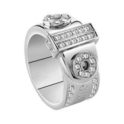 GUESS Logo Pave Ring UBR28514