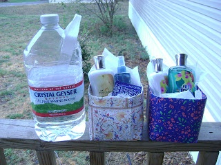 Etsy Recyclers Guild: Upcycle Gallon Water Bottles into Pretty Gift Baskets!