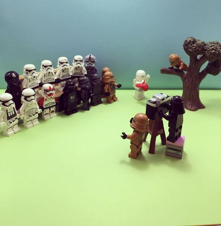 記念撮影  #lego#legostarwars#legostormtrooper#starwars#stormtrooper#legominifigs#legominifigure#legominifigures#legostagram#darthvader by rav4isis