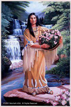 Beloved Woman of the Cherokee - Nancy Ward c. 1738-1824