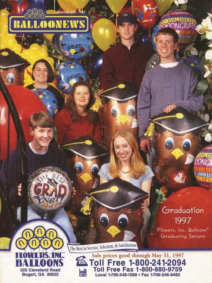 BALLOONEWS: Graduation 1997 #burtonandburton