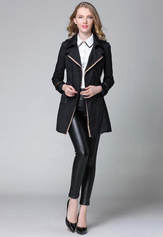 Luxusní dámský kabátek s knoflíky – námořnický styl – černý – Velikost L Na tento produkt se vztahuje nejen zajímavá sleva, ale také poštovné zdarma! Využij této výhodné nabídky a ušetři na poštovném, stejně jako …