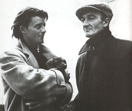 Gérard Philipe – Un Prince en Avignon » Gérard Philipe en compagnie de Jean Vilar, fondateur du Festival d'Avignon