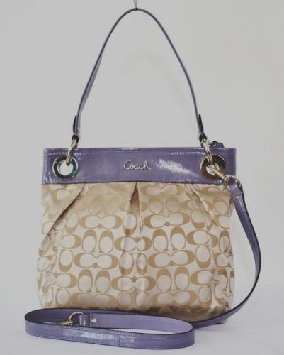 Coach 17599 Ashley Signature Sateen Hippie Bag   Shoulder Bags   Viva La Vida Boutique