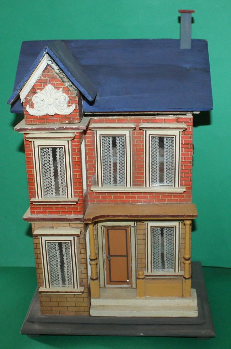 Vintage Dolls House Antique German Gottschalk # 2442/2 1895 RefM1326