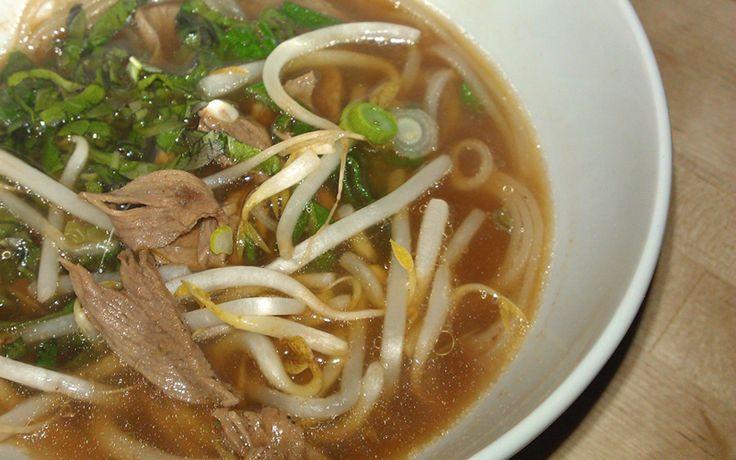 Thai Beef Boat Noodle Soup Recipe