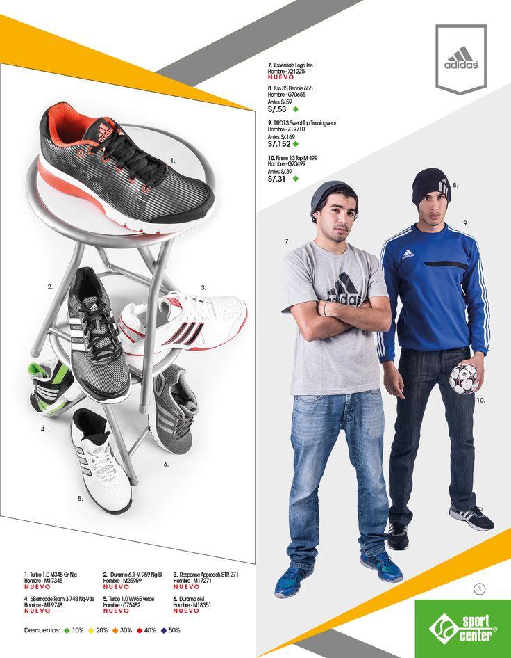 Catalogo de productos deportivos.