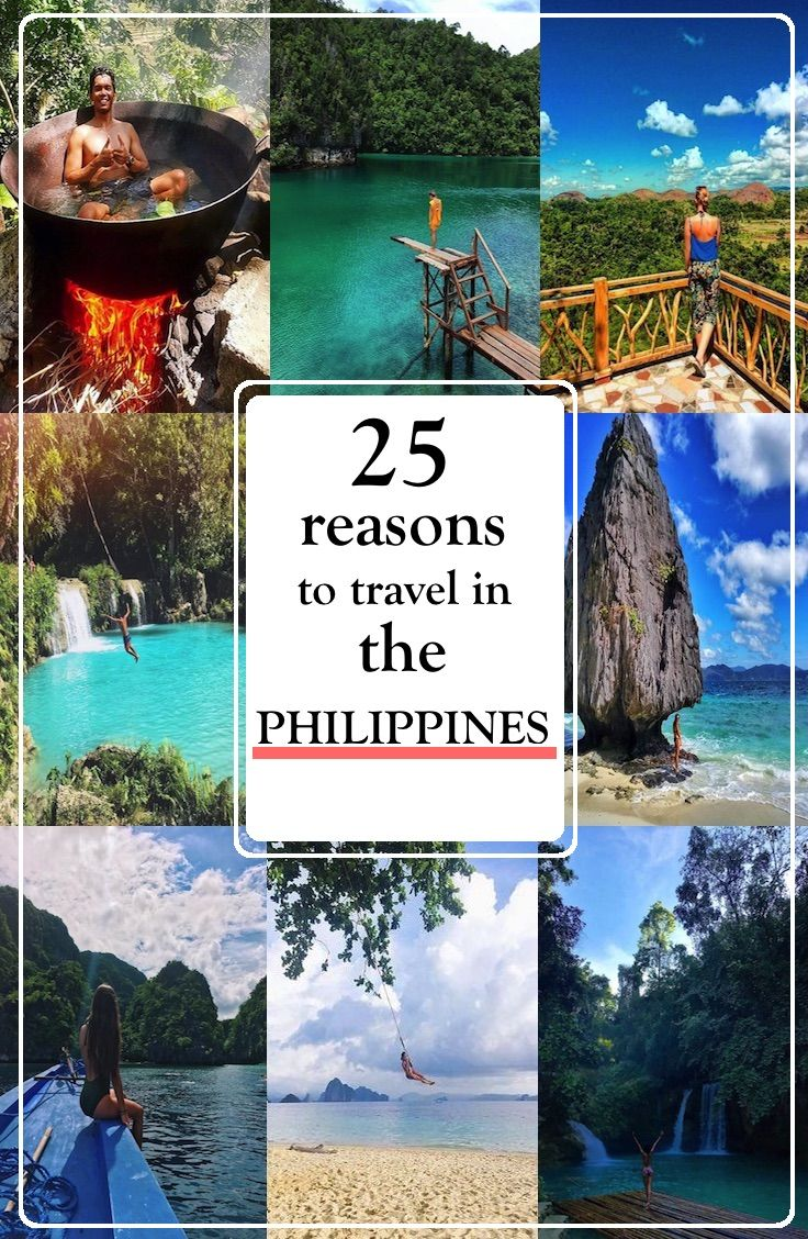 25 reasons to visit the Philippines