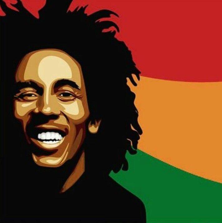 How To Draw Bob Marley Cartoon
