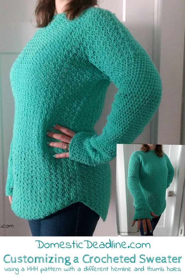 687c733df1d17 See how I made myself a customized sweater based on the Heart Hook Home  Easy Peasy