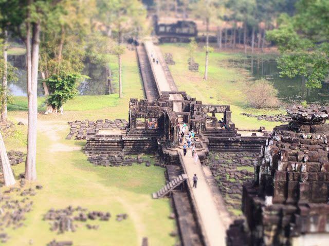 Cambodia, Baphuon temple