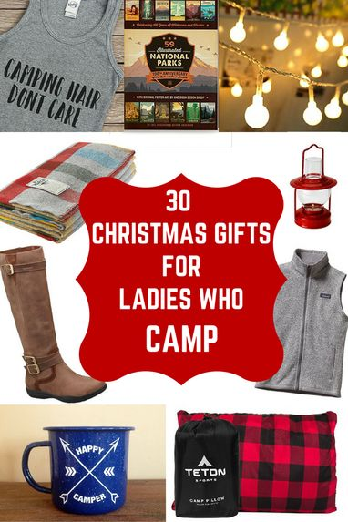 Christmas gift guide for campers, camping gifts, camping supplies, christmas gift ideas for women campers, christmas gift ideas for outdoorswomen, christmas gift ideas camping