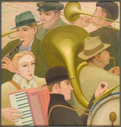 'Straatmuzikanten' (1952)