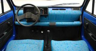 Interior del Seat Marbella