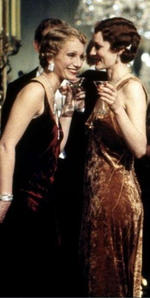 Kristin Scott Thomas in 'Gosford Park', 2001.