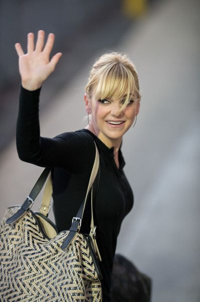 Anna Faris Stops by 'Jimmy Kimmel Live!'