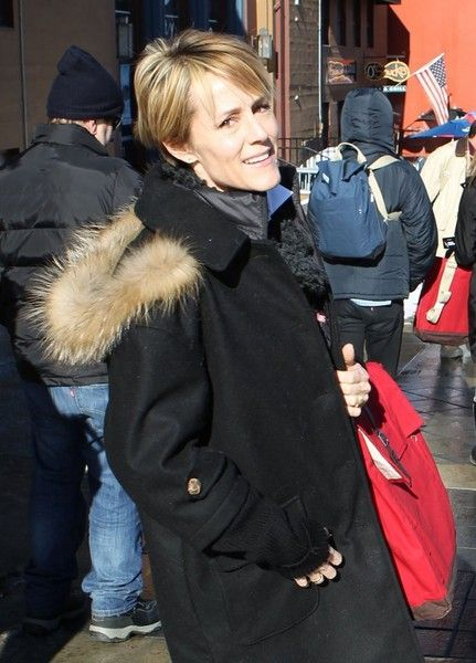 Mary Stuart Masterson Photos Photos - Celebrities out and about in Park City, Utah on January 25, 2016. The group is attending the 2016 Sundance Film Festival, which is running from January 21-31.<br /> <br /> Pictured: Mary Stuart Masterson - Celebrities Out and About at the Sundance Film Festival