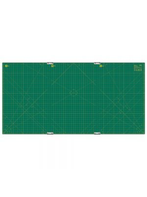 "OLFA 35"" x 70"" Self-Healing Rotary Mat and Clip Set. $297 free shipping. 3 pieces clip together"
