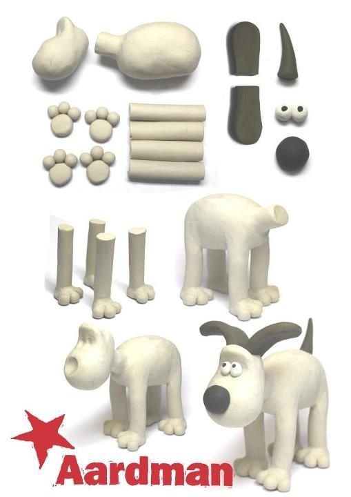 Gromit - sculpey craft activity