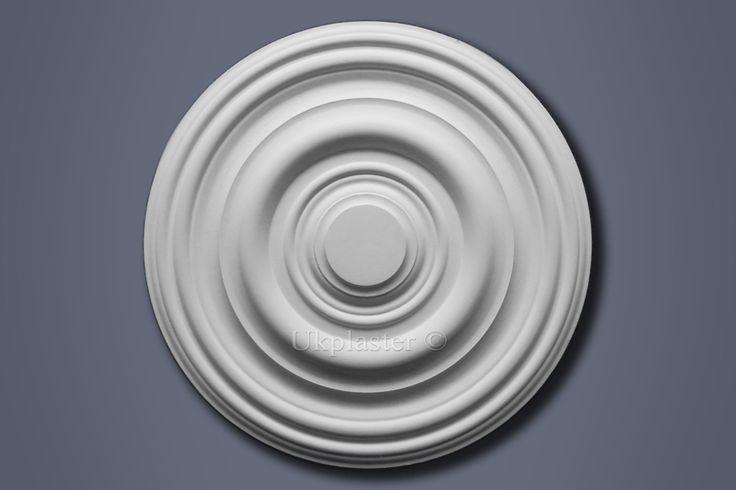 UK Plaster Medium Classic Ceiling Rose CP243