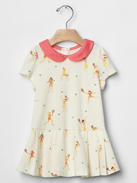 Collar tennis dress