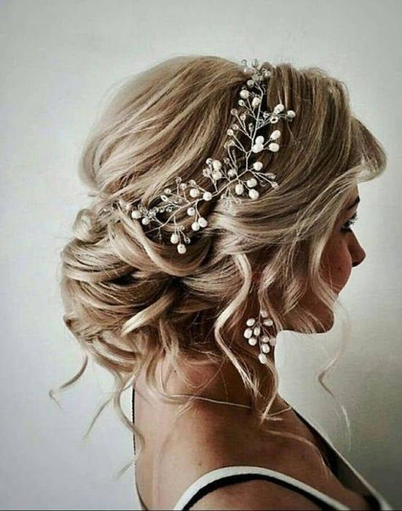 bridal hairpiece bridal hair vine bridal hair piece wedding accessories wedding headband hair vine prom hair accessories hair wreath Crystal Headband Crystal wreath wedding hair piece wedding wreath Delicate wedding accessory will perfectly compliment most wedding hairstyles. Handmade , 100 %