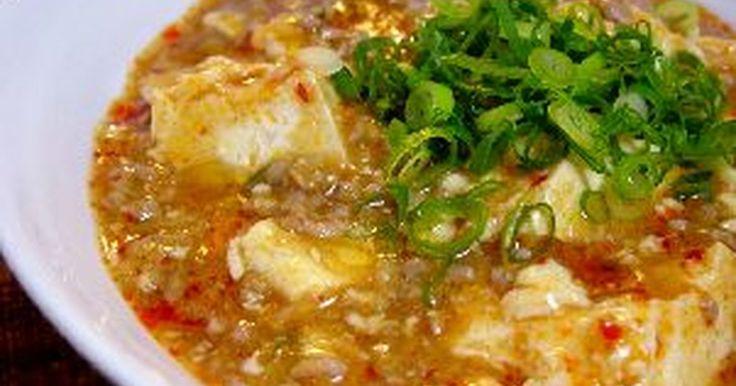お家で簡単本格麻婆豆腐!辛さの調節は自分でできます。ご飯にのせても美味しい!調味料は先に混ぜておくので簡単です。