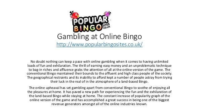 No doubt nothing can keep a pace with online gambling when it comes to having unlimited loads of fun and exhilaration.