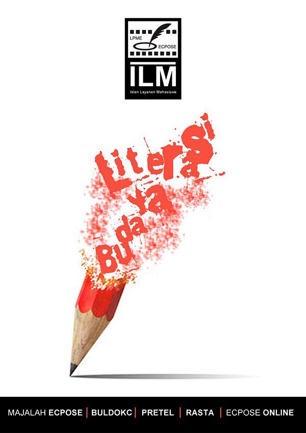 Budaya Literasi on Behance