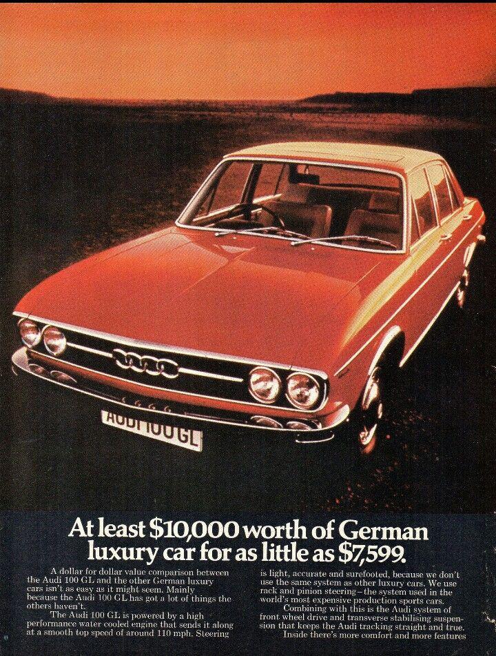 1974 AUDI 100 GL