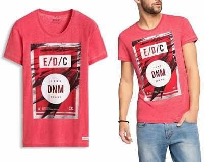 Edc Camisa para Hombre Ofertas especiales y promociones  Caracteristicas Del Producto: - 50% Algodón, 50% Poliéster - lavar a máquina - Manga corta