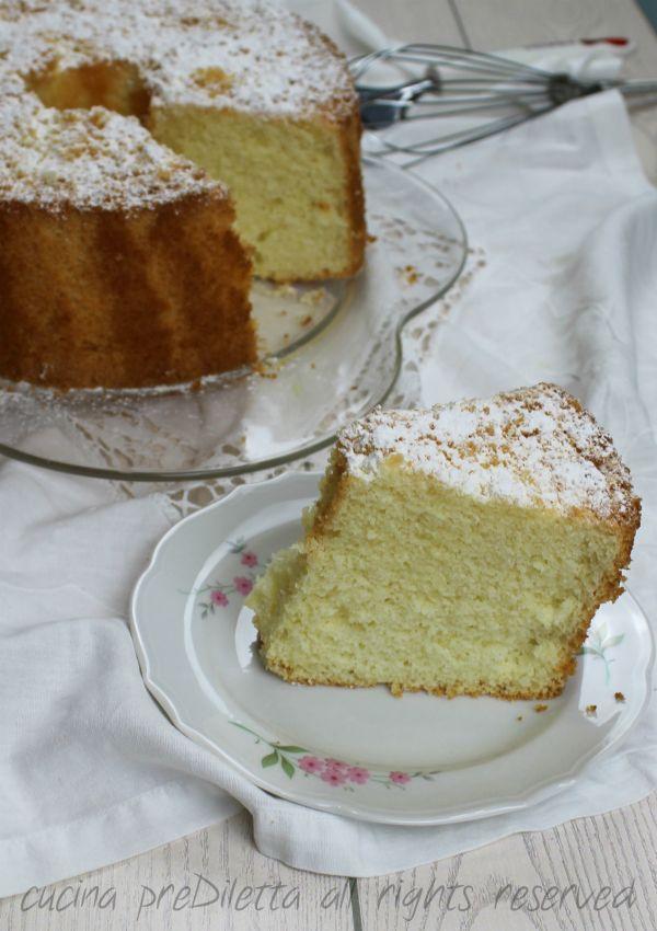 Chiffon cake - ricetta ciambellone americano | cucina preDiletta