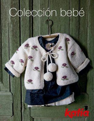 Conjunto Puerperium gris con gorrito | Con hilos, lanas y botones
