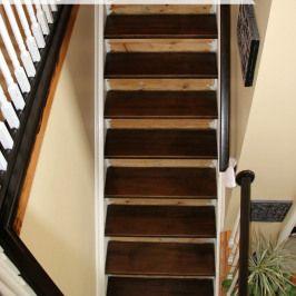 Staining Pine Stair Treads