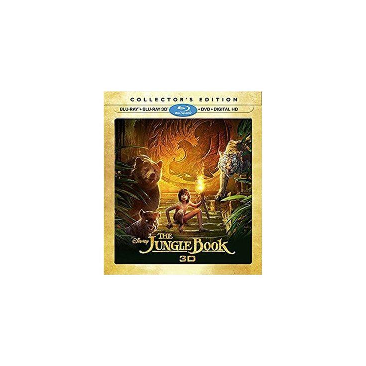 The Jungle Book (3D + Blu-ray + Dvd + Digital)
