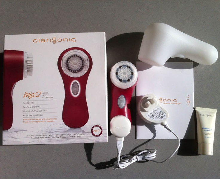 Clarisonic Mia 2 Sonic Skin Cleansing System Bordeaux, I