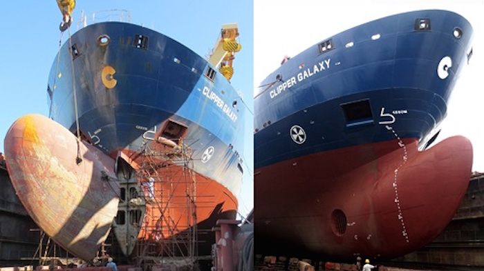 All major shipping companies are retrofitting their ship's bulbous bow for increasing fuel efficiency and reducing emissions. Learn about the reasons as to why ships are getting the Nose Jobs.