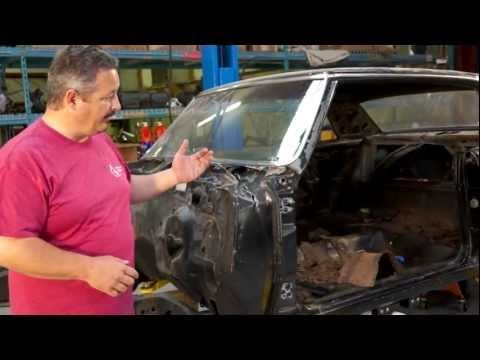 During this episode of The Build, American Modern's team works on the body in order to obtain better alignment with their replacement piece.  With the frame straight, Rick Drewry explains that the body needs to be lined up so the doors open properly.  The impact on the right side of the 65 Chevelle Malibu SS will require some customization to the firewall.  Check out more of American Modern's The Build on Facebook at: http://www.facebook.com/AmericanModernCollectorCar #TheBuild @American…