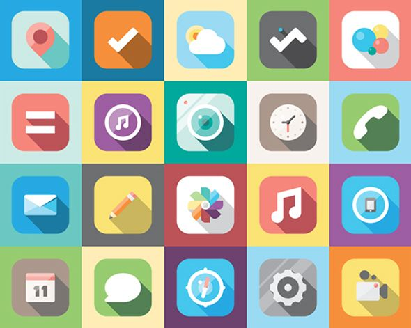 iOS7 Fancy Redesign | Picame - Daily dose of creativity