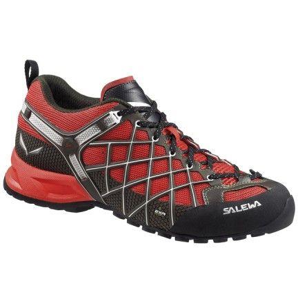 chaussure salewa ms wilfire vent rouge chaussure de mon ne homme randonnee trail trek