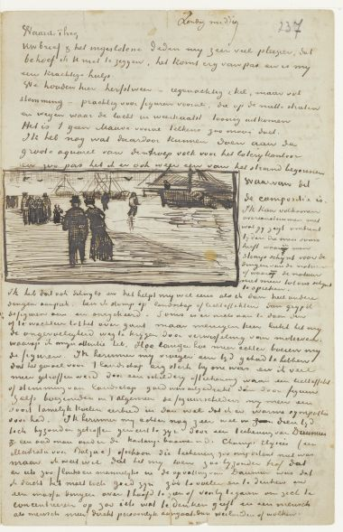 From: Vincent van Gogh  To: Theo van Gogh  Date: The Hague, Sunday, 22 October 1882