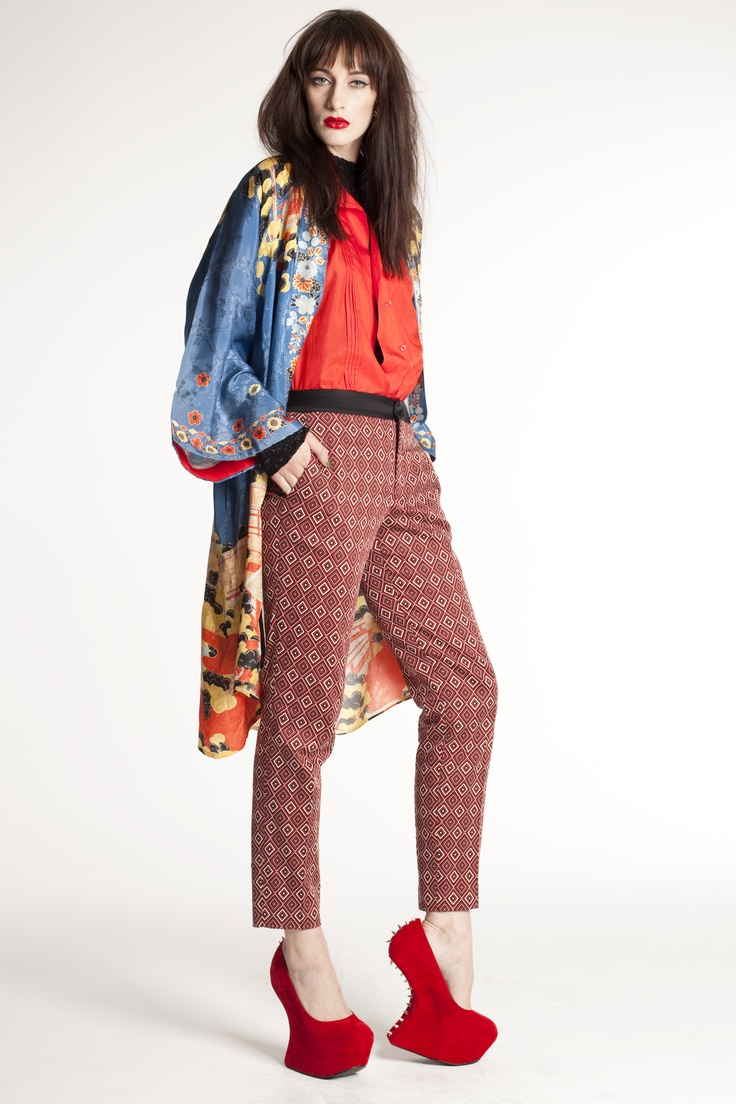 clash your prints and colours to make a bold statement!