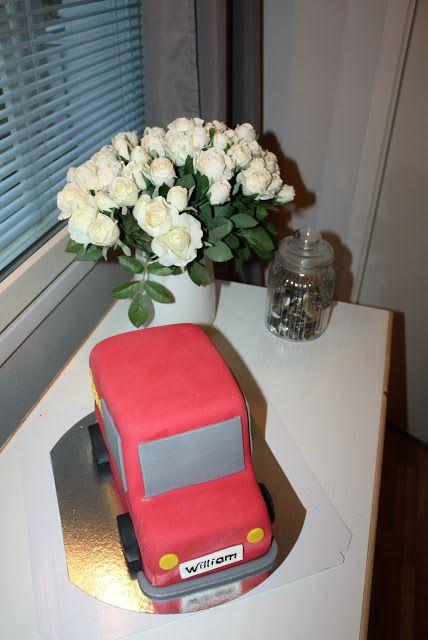 Nilla's Handicraft: Williams 1-års tårta