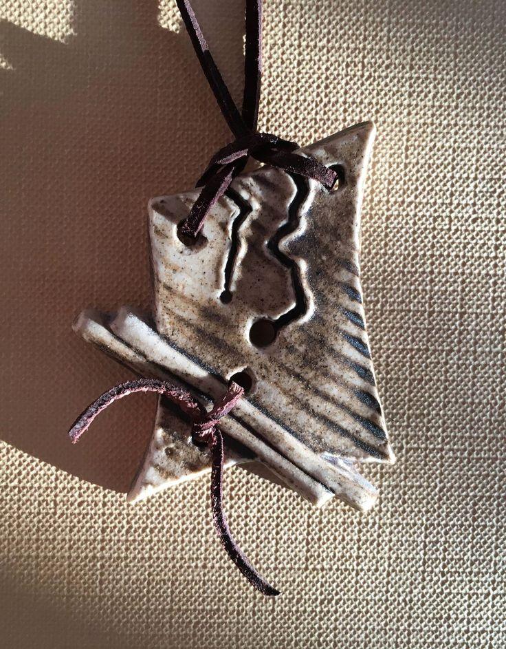 Keramický šperk - poloporcelán