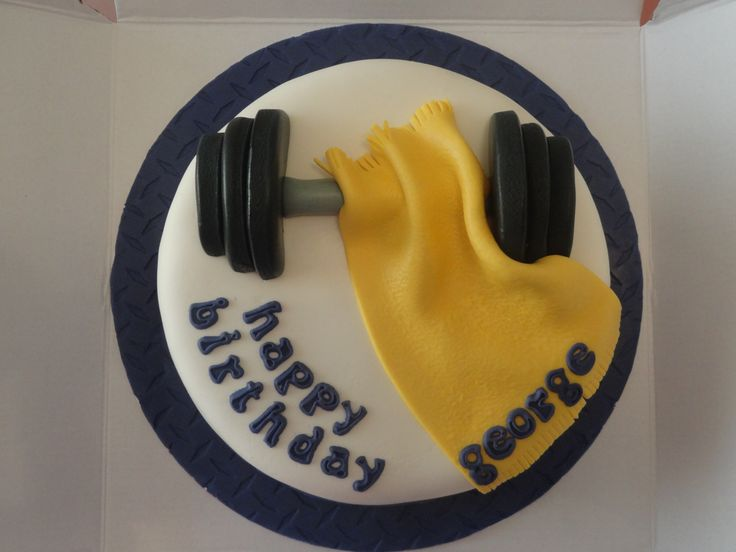 weight lifting cake(5) | Inspired By... in 2019 | Cake ...