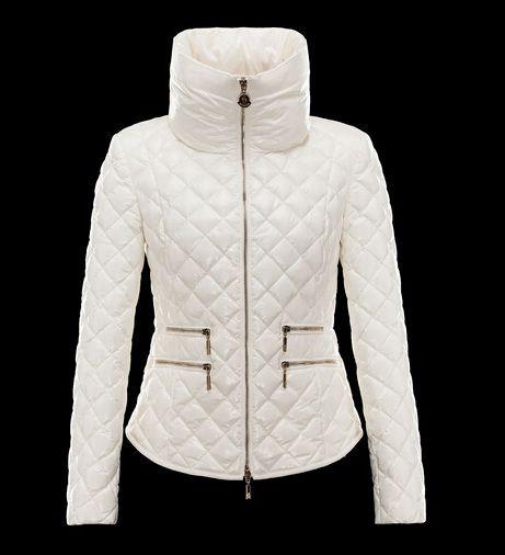 Nouveau Veste Moncler GUERY Doudoune Blanc Femme boutique
